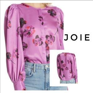 Silky Joie floral top